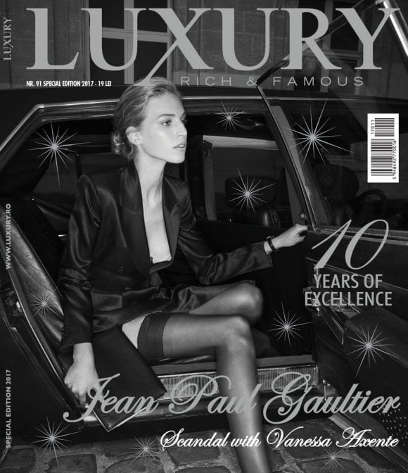 Luxury 91 – Starting a Scandal, by Jean Paul Gaultier with Vanessa Axente