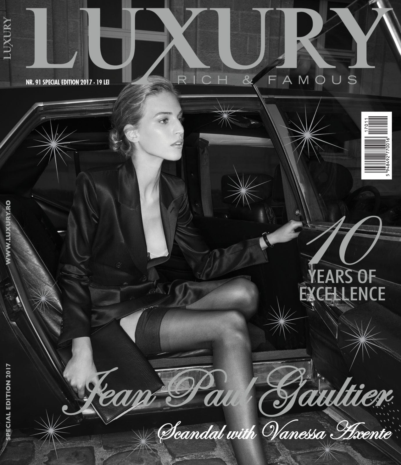 Jean Paul Gaultier with Vanessa Axente
