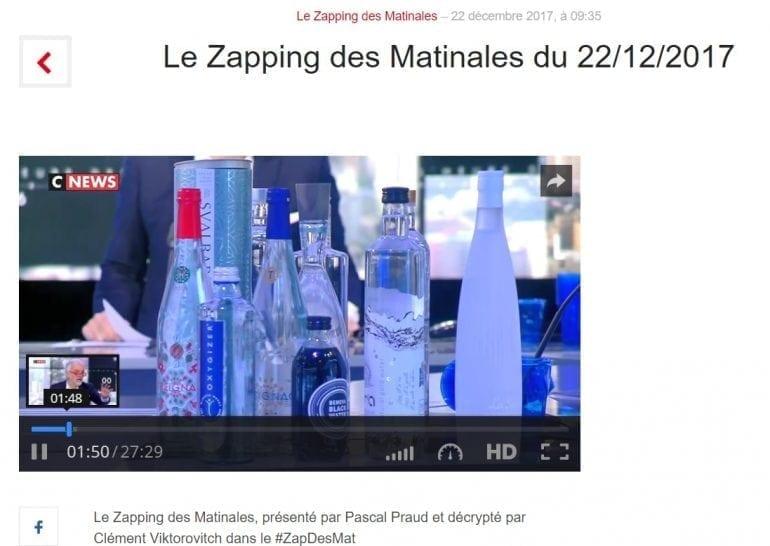 Aura platou Cnews 2 770x546 - România exemplelor pozitive: apa românească Aur'a a fost recomandată pentru un meniu sănătos la televiziunea franceză