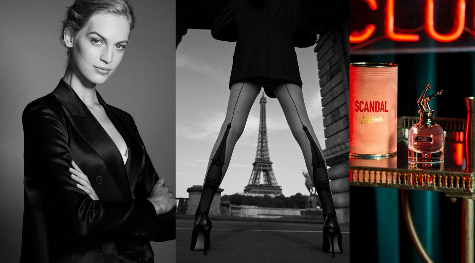 Starting a Scandal - by Jean Paul Gaultier with Vanessa Axente