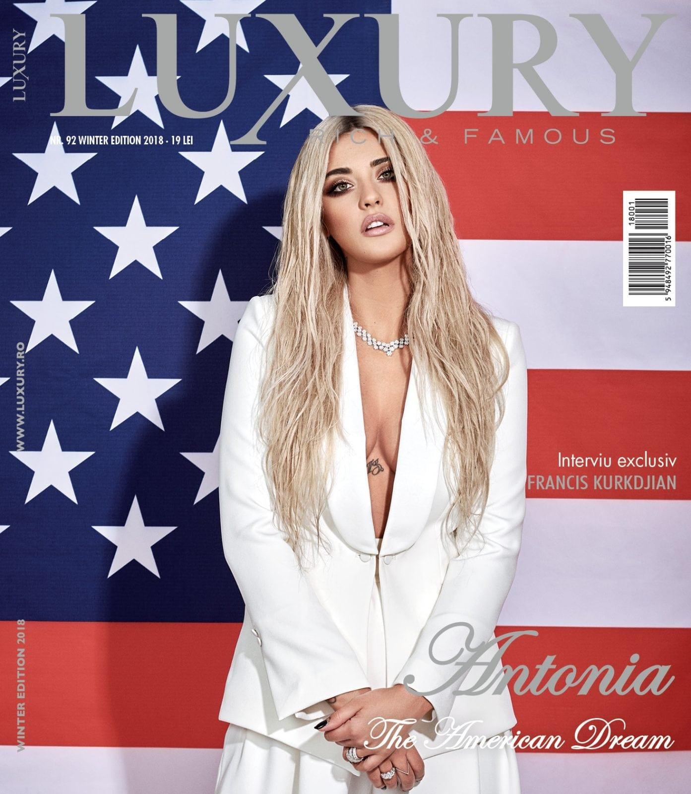 Coperta Luxury 92 final web 1 - Luxury 92 - Antonia - The American Dream