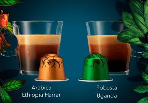 Edițiile limitate Nespresso: Ethiopia Arabica Harrar și Robusta Uganda