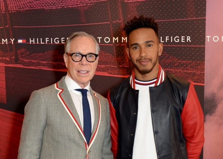 Lewis Hamilton global ambassador for Tommy Hilfiger announcement, London, UK - 13 Mar 2018