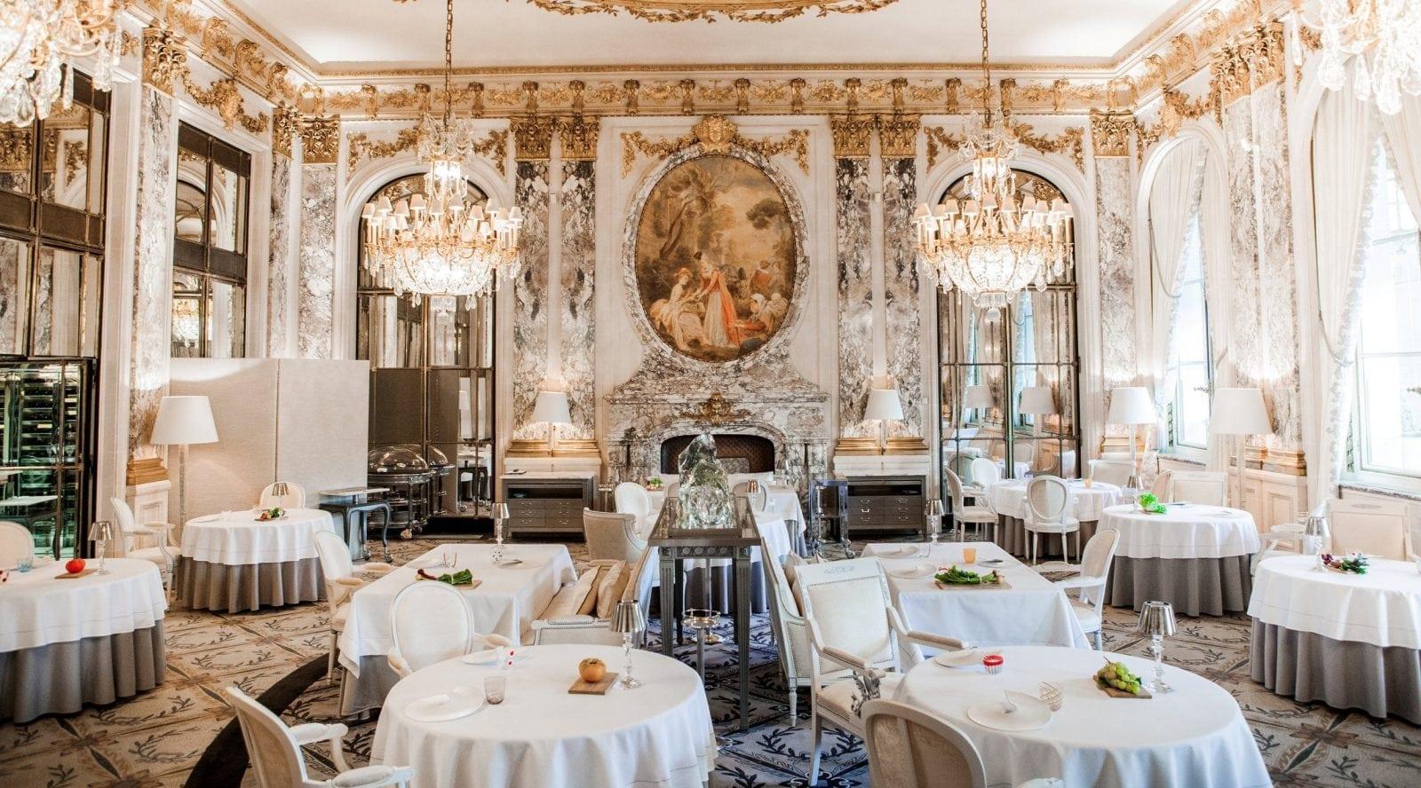 1.Restaurant le Meurice - Top 10 restaurante cu stele Michelin din Europa