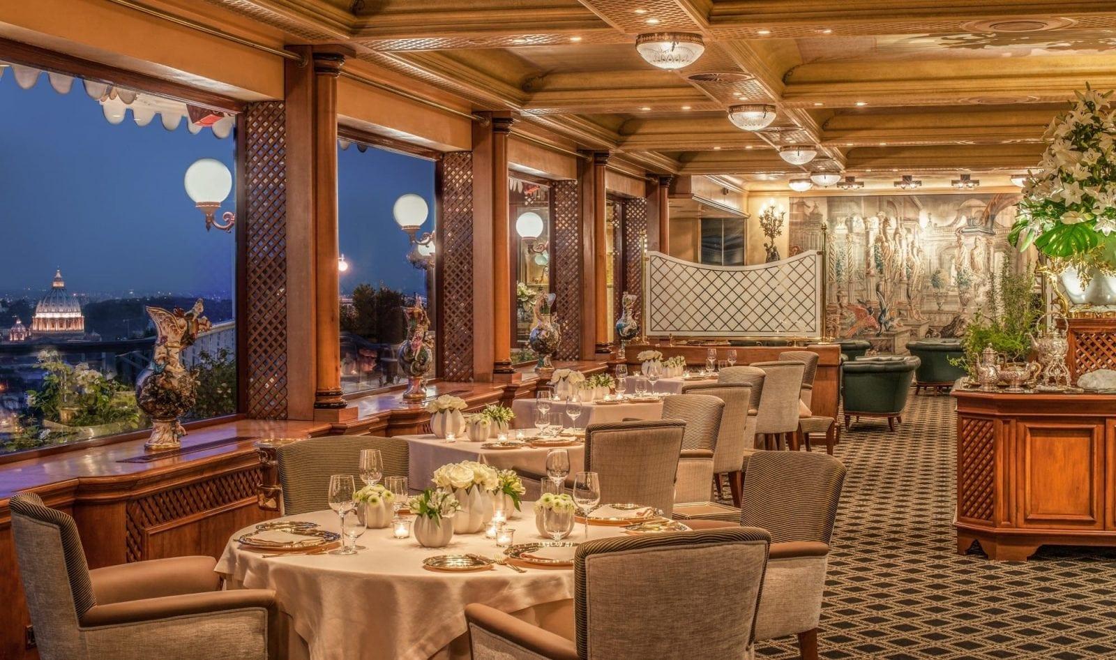10.La Pergola Rome - Top 10 restaurante cu stele Michelin din Europa