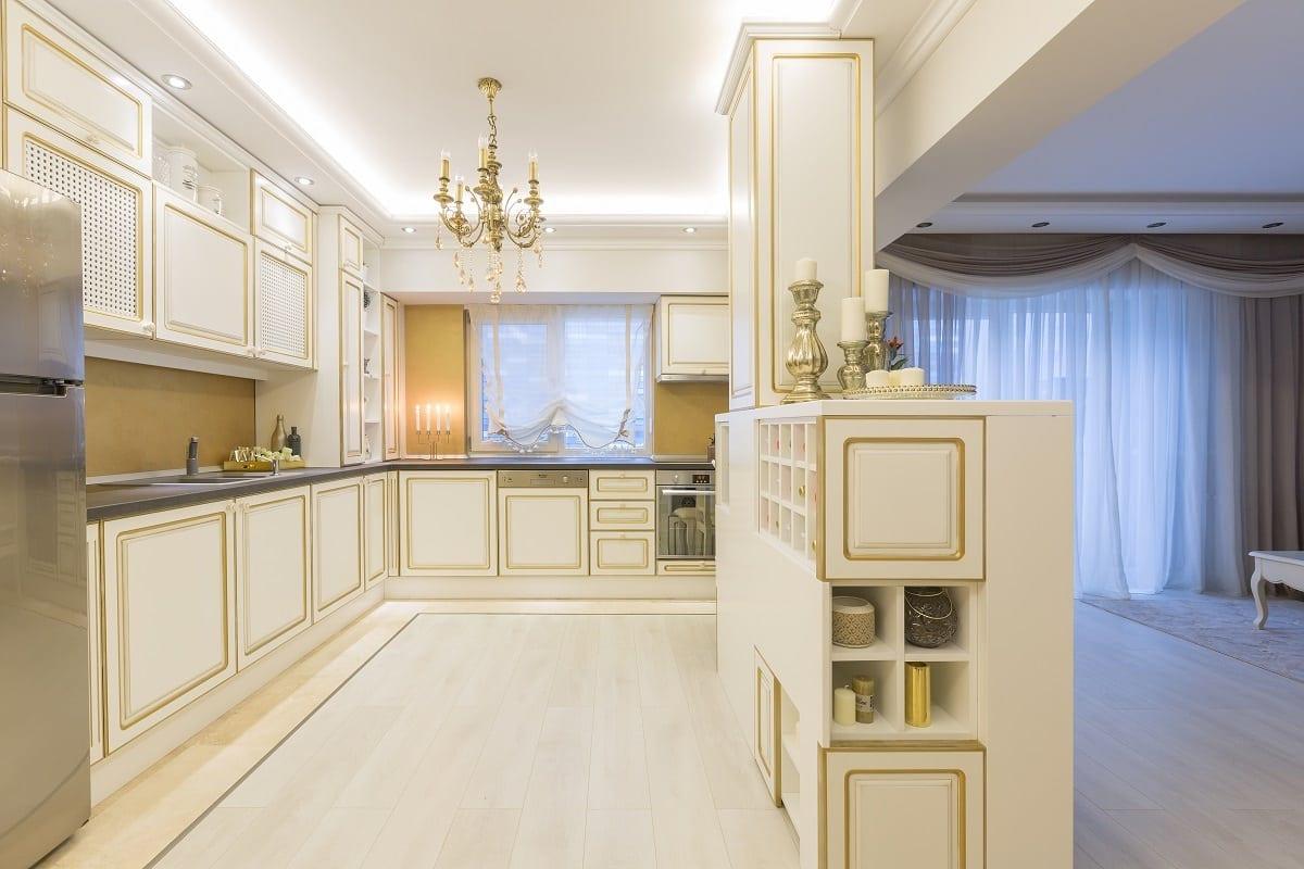 Amenajare bucatarie UGinteriors 3 - Victorian Chic – Amenajare de apartament clasică, în centrul Bucureștiului