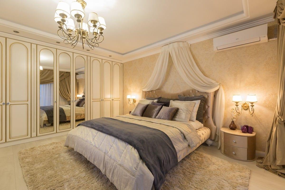 Dormitor clasic UGinteriors 1 - Victorian Chic – Amenajare de apartament clasică, în centrul Bucureștiului
