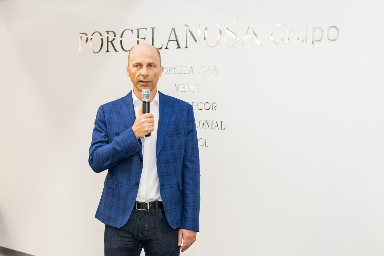 Dragoș Bonea director general Delta Studio - Grupul spaniol Porcelanosa a deschis un showroom în București în parteneriat cu Delta Studio, în urma unei investiții de aproximativ o jumătate de milion de euro