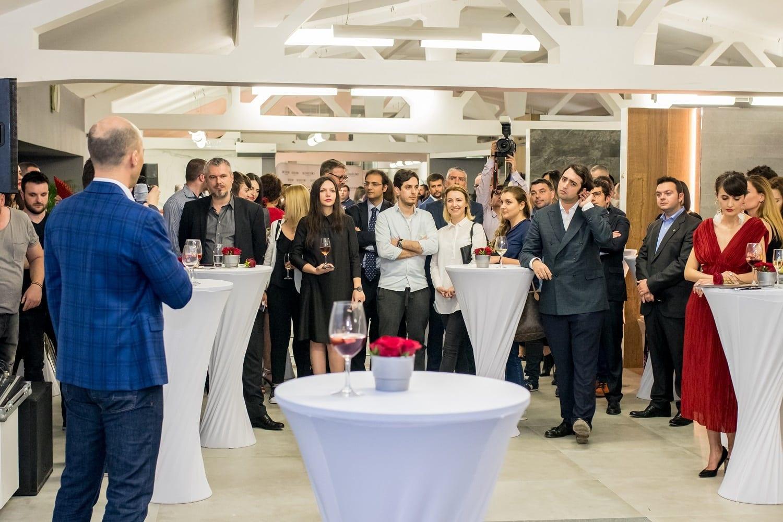 Inaugurare Showroom Porcelanosa Delta Studio Bucuresti 1 - Grupul spaniol Porcelanosa a deschis un showroom în București în parteneriat cu Delta Studio, în urma unei investiții de aproximativ o jumătate de milion de euro
