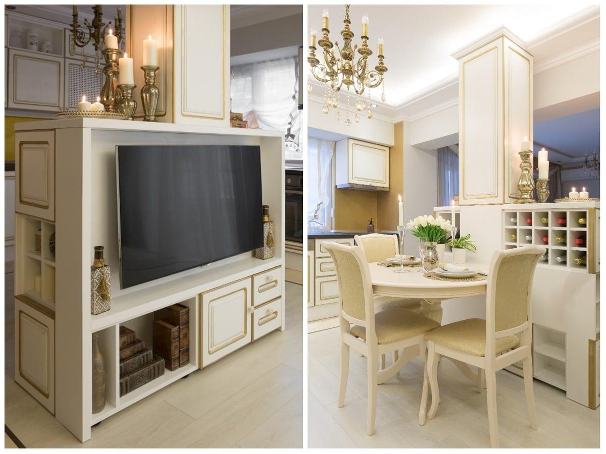 Stalp depozitare - Victorian Chic – Amenajare de apartament clasică, în centrul Bucureștiului