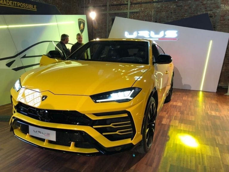 Cel mai rapid SUV din lume, Lamborghini Urus, a fost lansat oficial în România