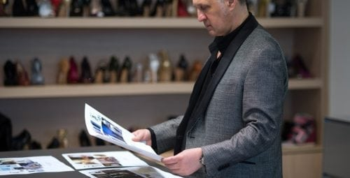 Casadei, un brand cu istorie – Interviu exclusiv cu Cesare Casadei, la inaugurarea magazinului Casadei din București