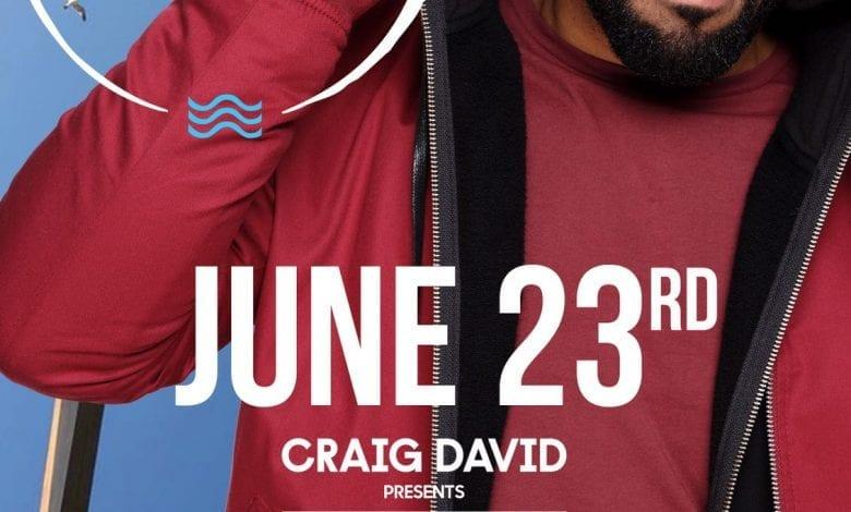Craig David la NUBA Beach Club, pe 23 Iunie 2018!