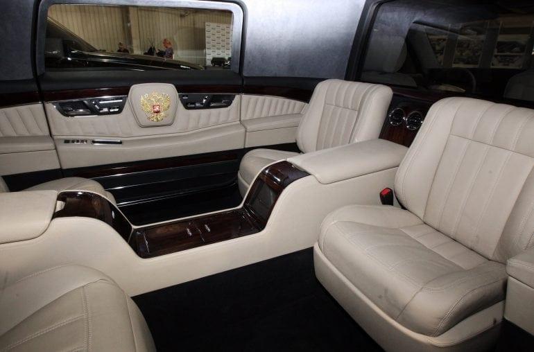 1055300177 770x508 - Mașini cu simbol de statut - Limuzina Aurus, mașina președintelui Vladimir Putin