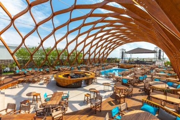 Finisaje SSAB în designul spectaculos al celui mai scump club din Mamaia