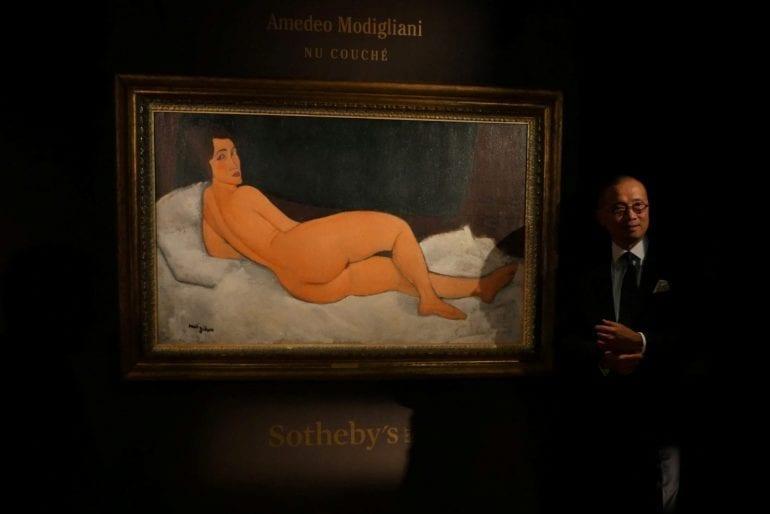 Amadeo Modiljani t 770x514 - Amedeo Modigliani obține un nou record pentru Sotheby's: 157,2 milioane de dolari