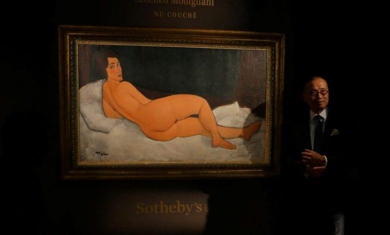 Amedeo Modigliani obține un nou record pentru Sotheby's: 157,2 milioane de dolari