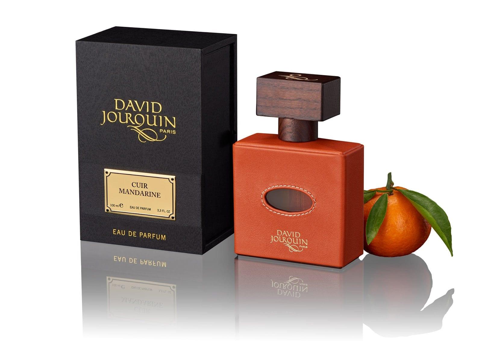DAVID JOURQUIN – CUIR MANDARINE. Cuir-Mandarine