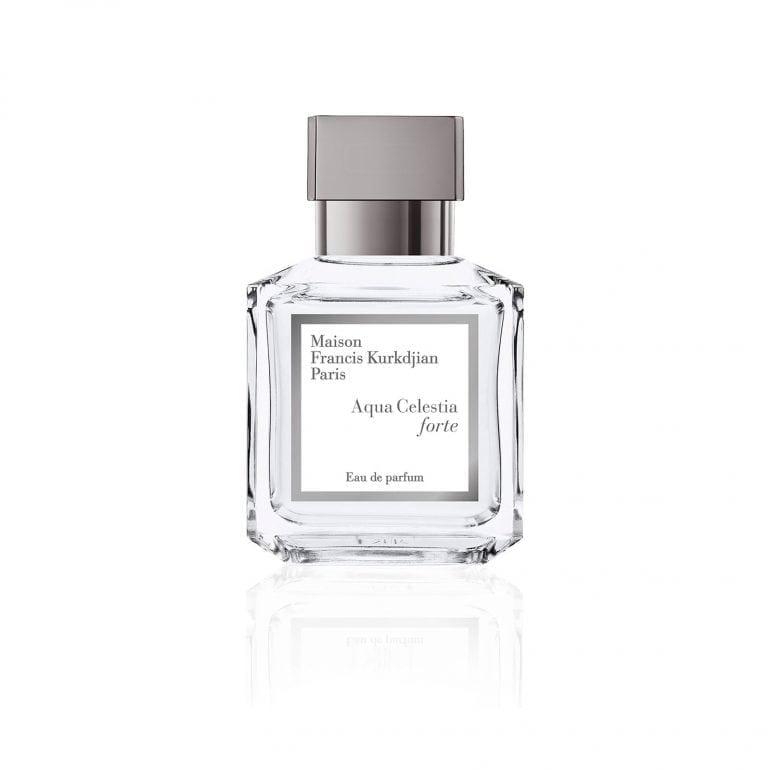 MFK Packshot Aqua Celestia forte bottle HD 770x770 - Îmbinarea artei parfumeriei de lux  cu noutatea esențelor unice, la Beautik Haute Parfumerie