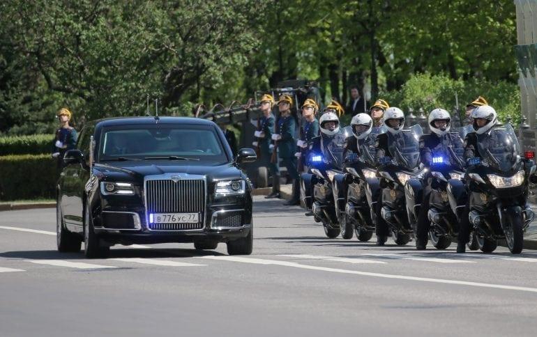 car 770x484 - Mașini cu simbol de statut - Limuzina Aurus, mașina președintelui Vladimir Putin