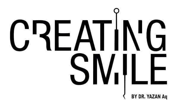 creating smile logo - Dr. Yazan Aqrabawi &  Anamaria Prodan Reghecampf