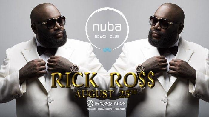 Rick Ross vine cu Lamborghini-ul direct pe scena NUBA Beach Club