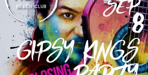 Show extraordinar marca Gypsy Kings la petrecerea de închidere de sezon NUBA BEACH CLUB!
