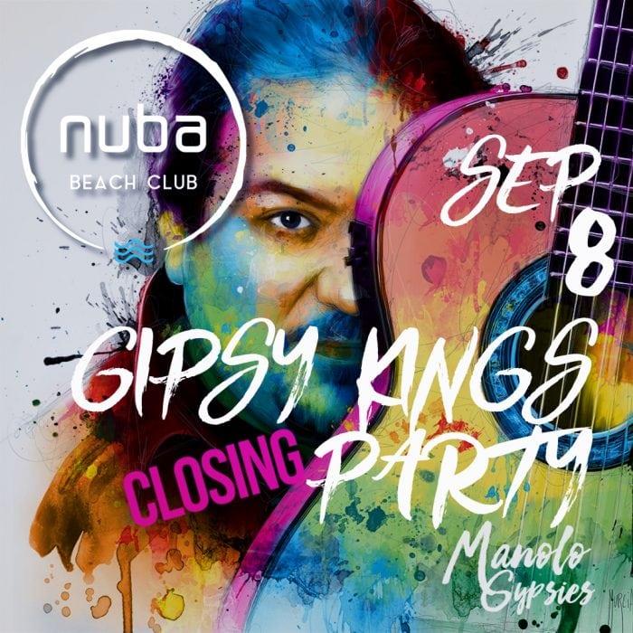 Show extraordinar marca Gypsy Kings la petrecerea de închidere de sezon NUBA BEACH CLUB!