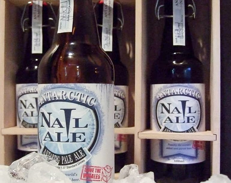 Antarctic Nail Ale 770x611 - 7 out-of-the-box creations by breweries and distilleries