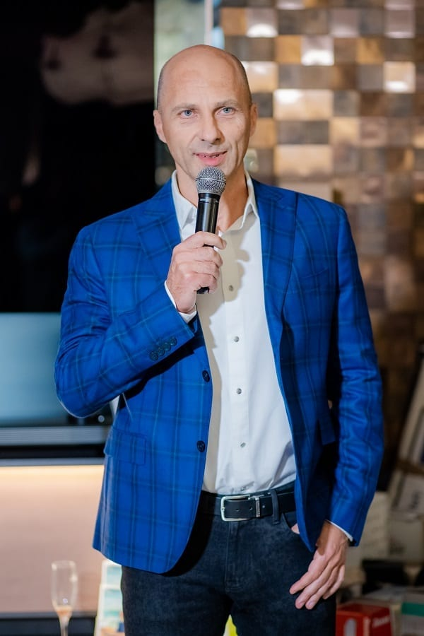 Dragos Bonea director general Delta Studio - În premieră în România,Delta Studio expune cele mai noi colecții de mobilier italian și spaniol, lansate la Salone del Mobile Milano 2018