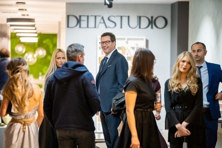 Eveniment Delta Studio weareluxury invitati 3 770x513 - În premieră în România,Delta Studio expune cele mai noi colecții de mobilier italian și spaniol, lansate la Salone del Mobile Milano 2018