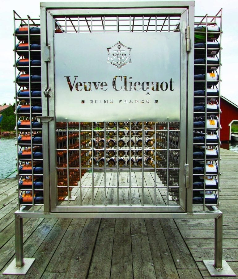 Veuve Clicquot Cellar in the Sea 770x904 - 7 out-of-the-box creations by breweries and distilleries