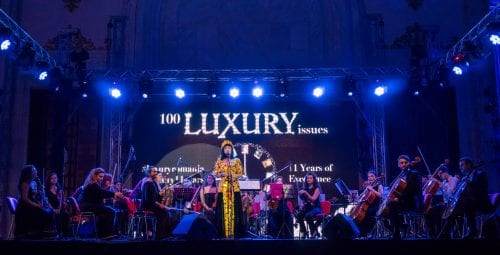LUXURY RICH & FAMOUS MAGAZINE 11 YEARS GALA – 100 ISSUES