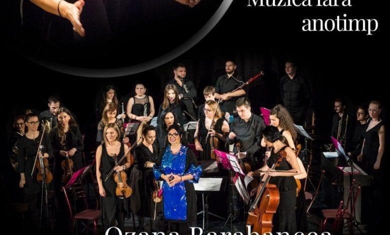 """Concertul """"Muzică fără Anotimp"""", de Ozana Barabancea și Lumini Sonore Orchestra"""