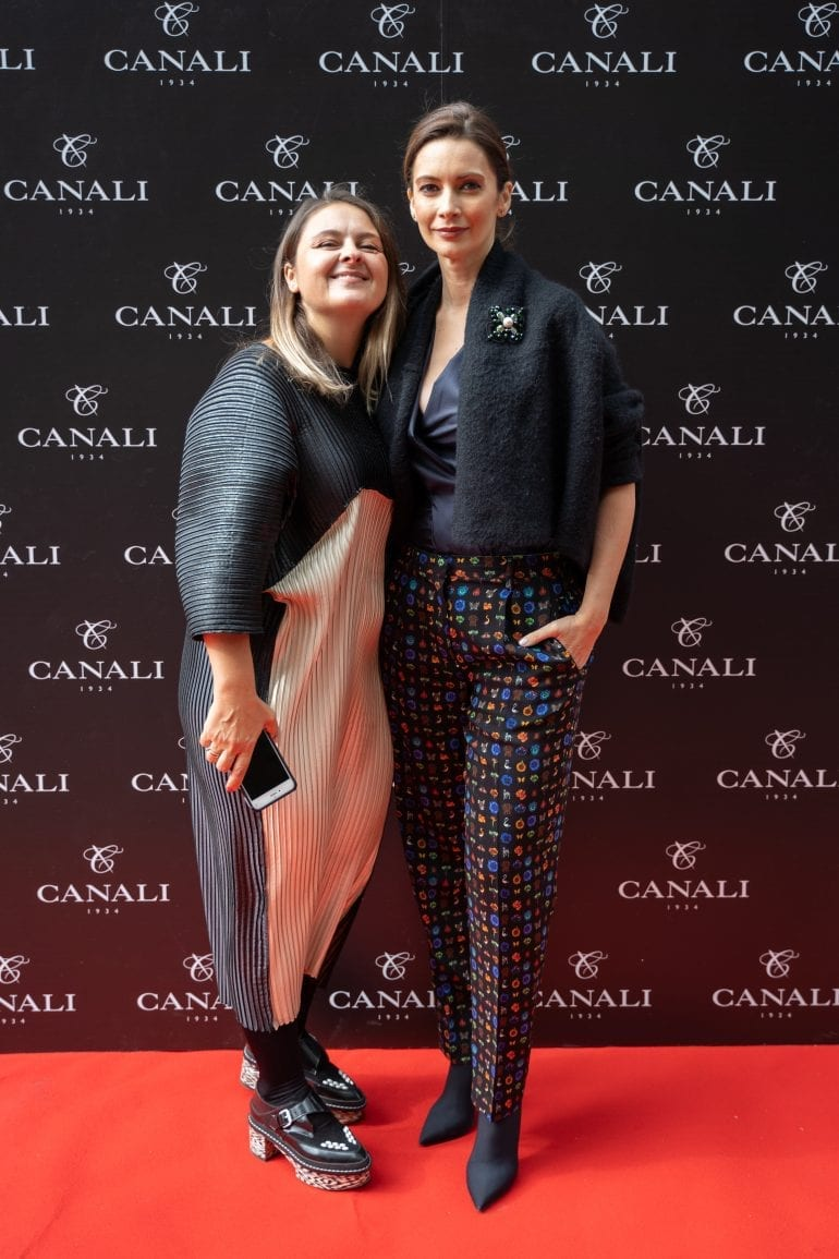 Luana Danet si Andreea Berecleanu 770x1155 - Canali – Fall-Winter Collection 2018