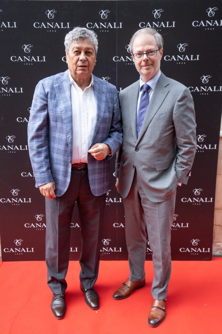 Mircea Lucescu si Paolo Canali 770x1155 - Canali – Fall-Winter Collection 2018