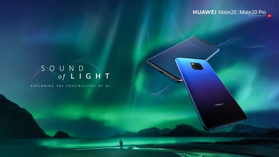 Huawei Sound of Light - Luminile Aurorei Boreale, transformate în simfonie cu ajutorul inteligenței artificiale dezvoltate de Huawei