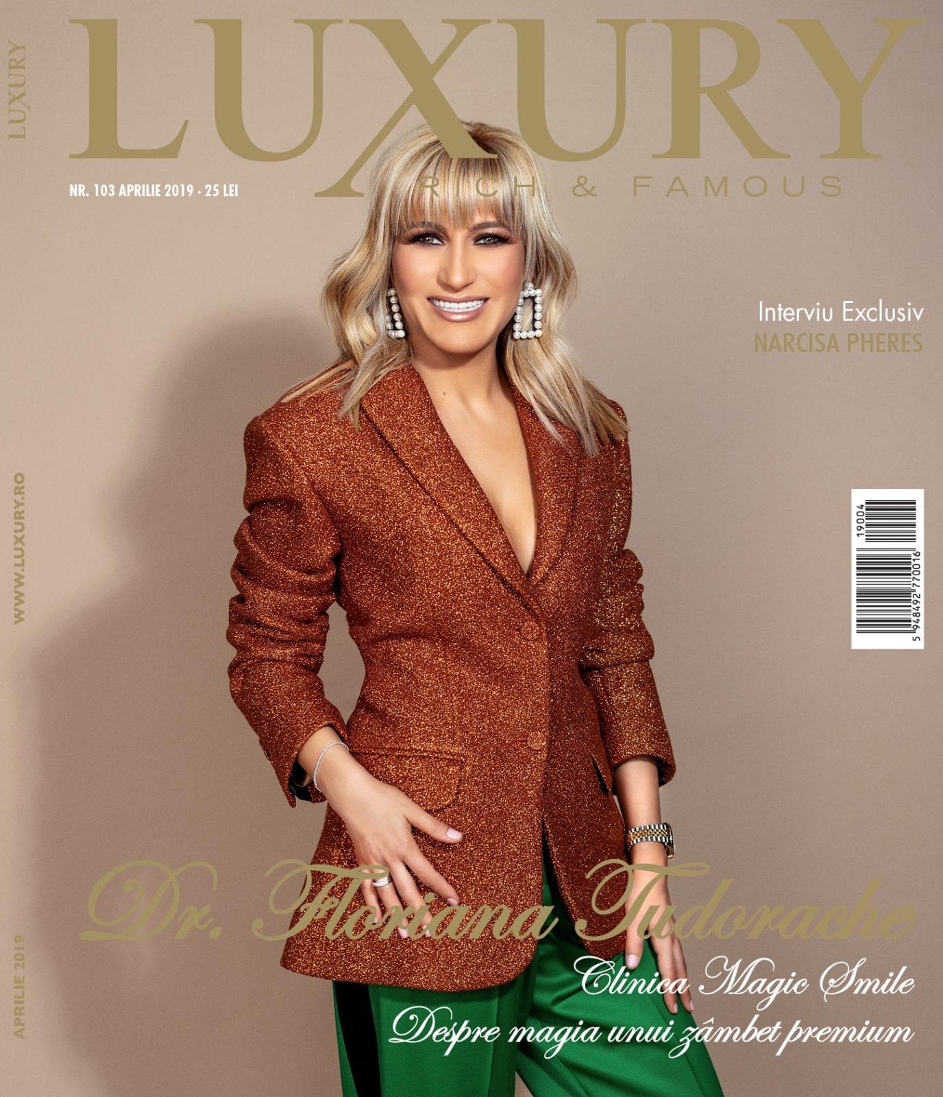 Coperta 103 fin web - Luxury 103 - Dr. Floriana Tudorache