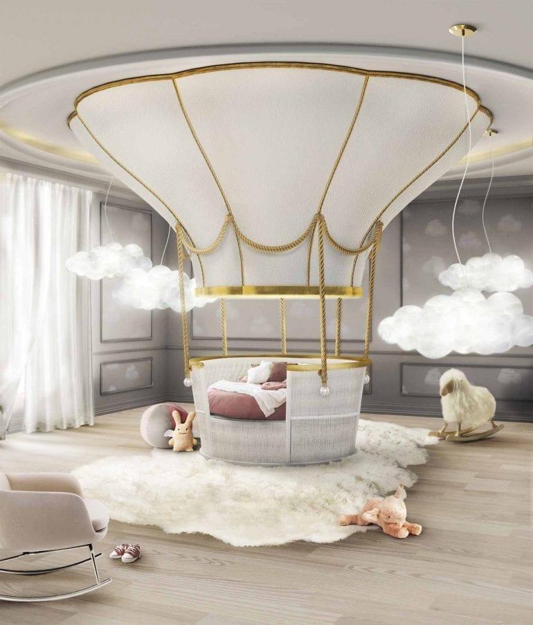 11 Circu Fantasy Air Balloon bed 770x903 - Trendurile în decorațiuni pentru 2019: Primele impresii