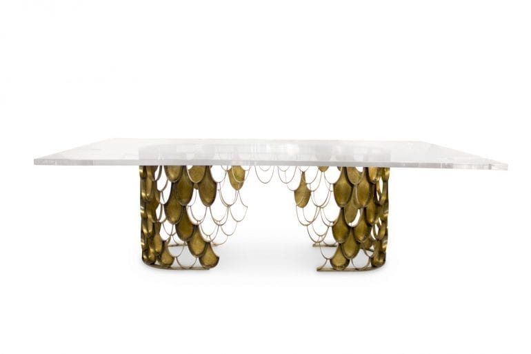 2 Brabbu Koi Dining Table 770x513 - Trendurile în decorațiuni pentru 2019: Primele impresii