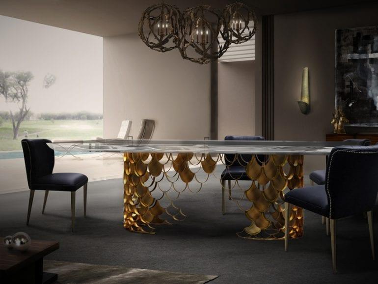 2 a Brabbu Koi Dining Table 770x578 - Trendurile în decorațiuni pentru 2019: Primele impresii