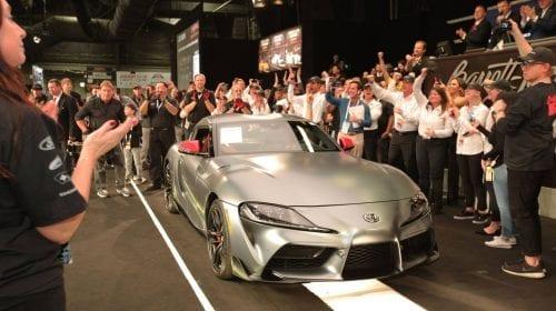 Primul model din noua Toyota Supra s-a vândut la licitație cu 2,1 milioane de dolari