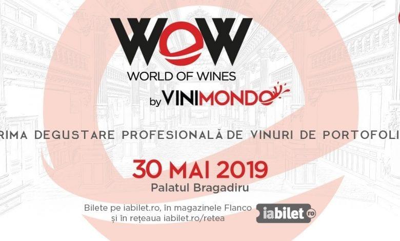 VINIMONDO aniversează 10 ani de activitate în România și organizează prima ediție World Of Wines