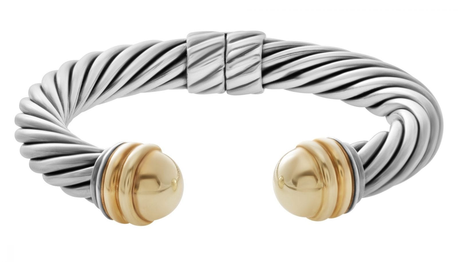 David Yurman Cable Braclet Silver Gold 1 - David Yurman - Sculptând atemporalitatea