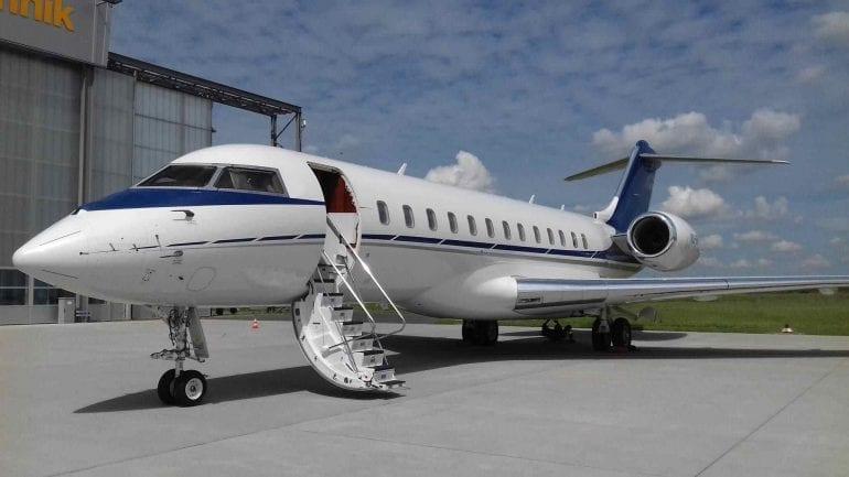 Global XRS 770x433 - Un Bombardier de lux BD-700 Express