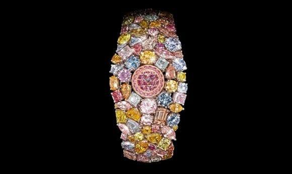 Cel mai scump ceas din lume rămâne  Graff Diamonds Hallucination  55 de milioane de dolari