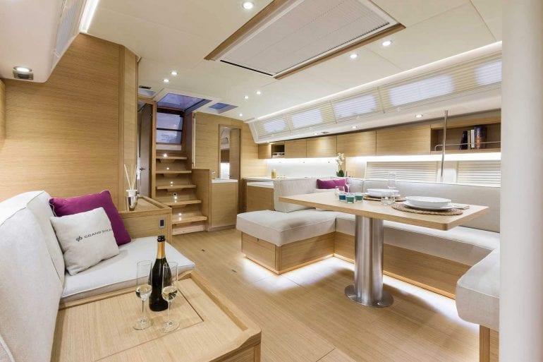 Grand Soleil Long Cruise 46 California Yacht Imports interior lc462 770x513 - Grand Soleil 46 Long Cruise