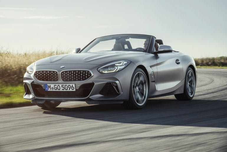 P90318561 highRes the new bmw z4 roads 770x514 - Noul roadster, colecția de primăvară-vară 2019 – BMW Z4