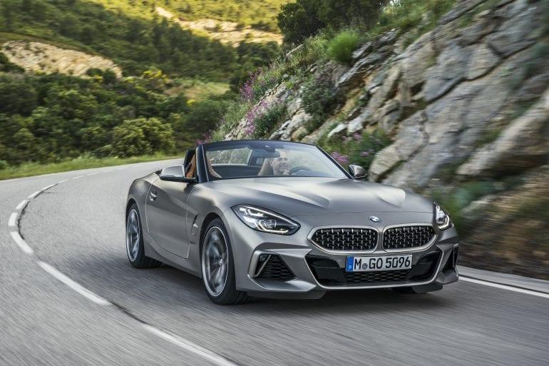 P90318600 highRes the new bmw z4 roads 770x513 - Noul roadster, colecția de primăvară-vară 2019 – BMW Z4