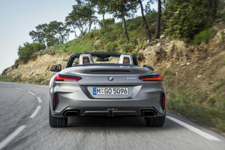 P90318601 highRes the new bmw z4 roads 770x513 - Noul roadster, colecția de primăvară-vară 2019 – BMW Z4